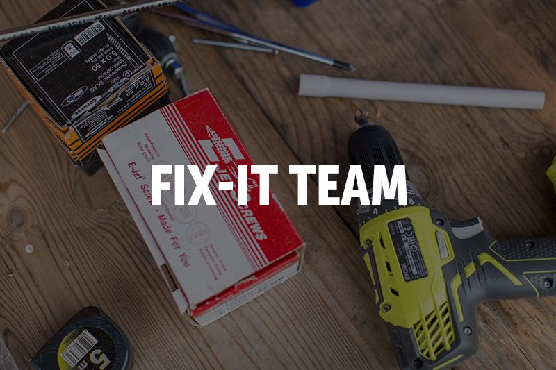 Fix-it Team - Summer 2021